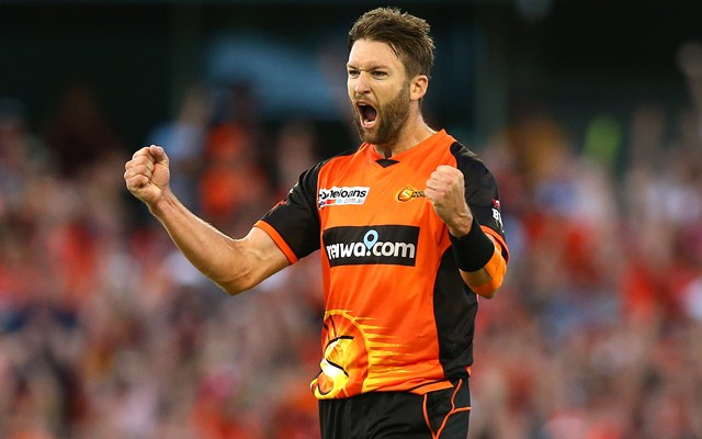 Andrew Tye Perth Scorchers | CricTracker.com