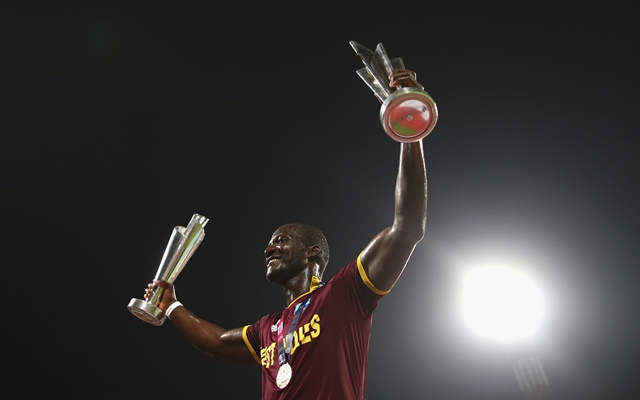 Darren Sammy' first Captain to win two T20I World Cups