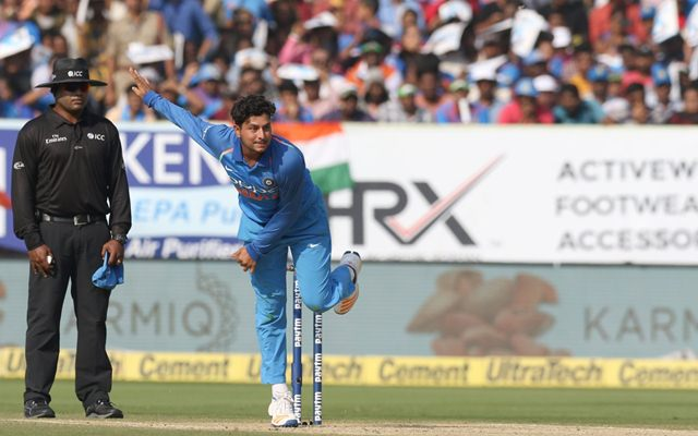 Chahal's first five-wicket haul gives India thumping win