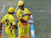 MS Dhoni of CSK