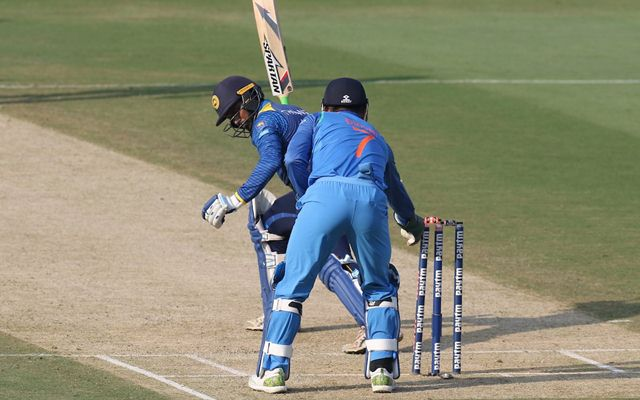 Image result for WICKET KEEPER DHONI STUMPING