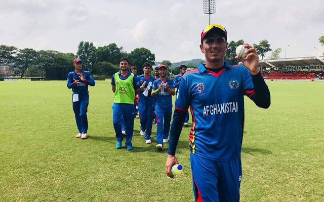 16-year-old's sensational debut sees Afghanistan power past Ireland