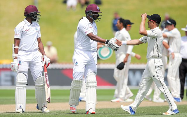 New Zealand v West Indies - 1st Test: Day 4