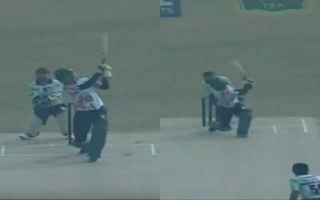 Shoaib Malik does a Yuvraj Singh, smashes 6 sixes in an over