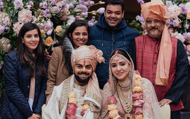 Virat Kohli, Anushka Sharma 'literally in heaven' post marriage