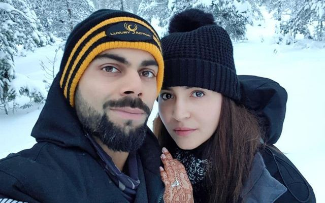 Here's presenting just married Virat Kohli and Anushka Sharma on their honeymoon