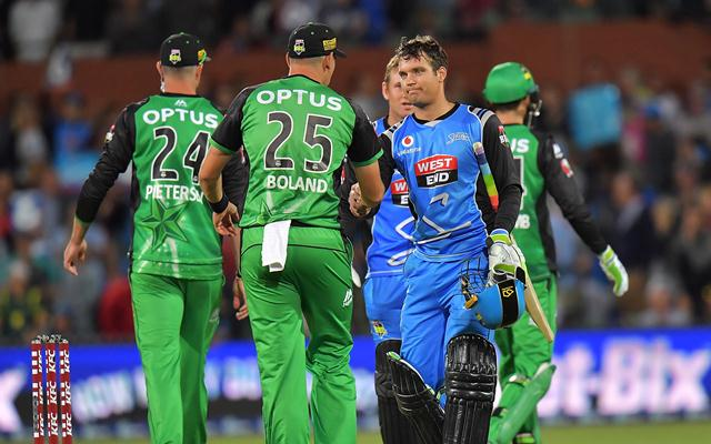 Alex Carey of the Adelaide Strikers