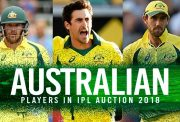 List of Aussie players in Auction 2018