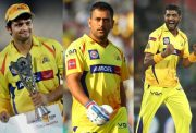 CSK retained players