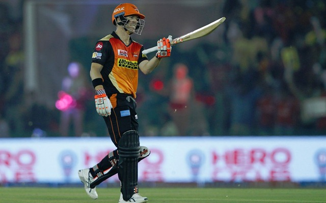 David Warner SRH | CricTracker.com