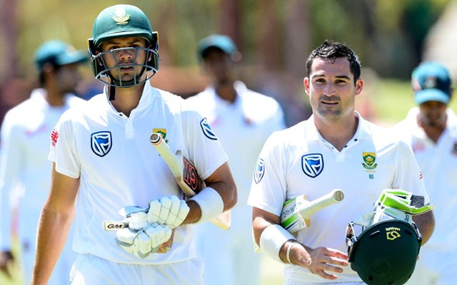 #SAvIND: Du Plessis surprised by brown pitch""