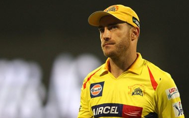Image result for du plessis csk