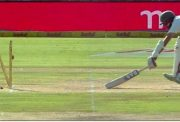 Hashim Amla run-out