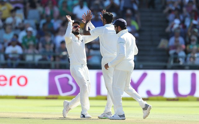Proteas all out for 335, Ashwin pick four wicket