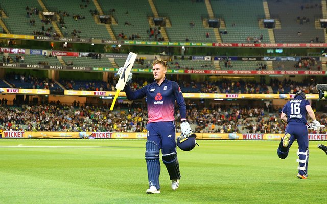 Roy's record century guides England to ODI win vs Australia