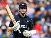 Kane Williamson New Zealand v Pakistan