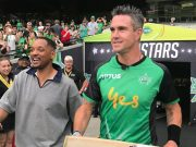 Kevin Pietersen & Will Smith