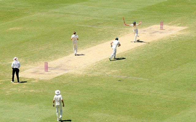 England On The Ropes In The Ashes