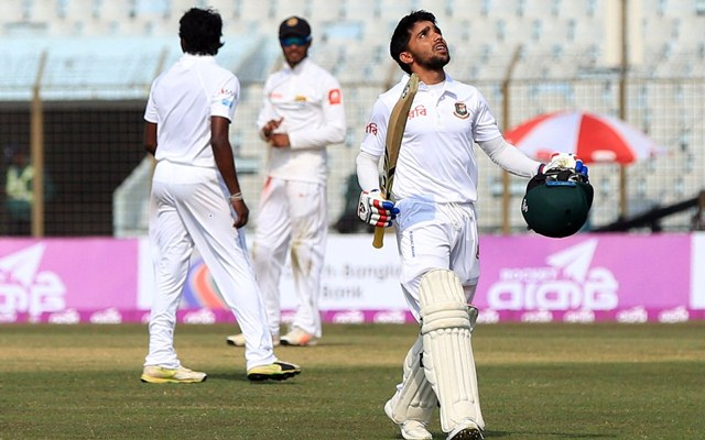 Mominul Haque hundred
