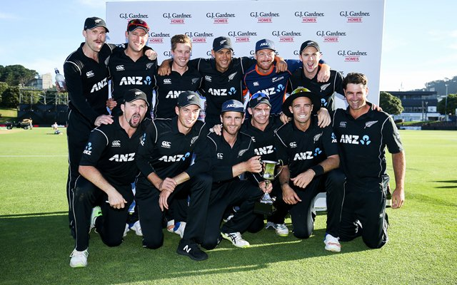 New Zealand Team | CricTracker.com