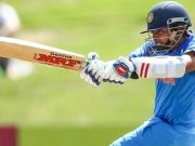 Prithvi Shaw batting