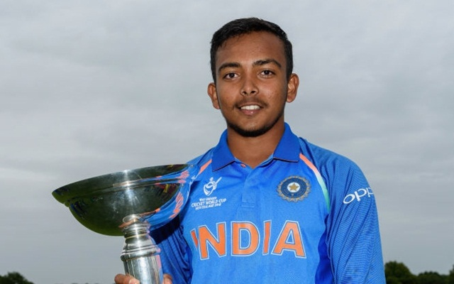 IPL 2018: Prithvi Shaw not concerned about featuring in playing XI