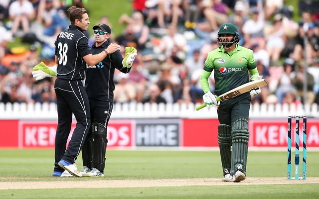 New Zealand v Pakistan, first ODI