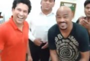 Vinod Kambli celebrated his 46th birthday with Sachin Tendulkar