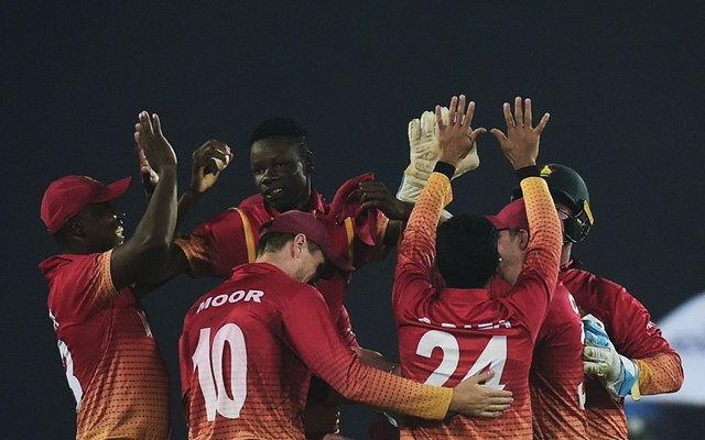 Tri-series: Raza, Chatara star in Zimbabwe's thrilling win