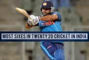 Most sixes in Twenty20 cricket in India.