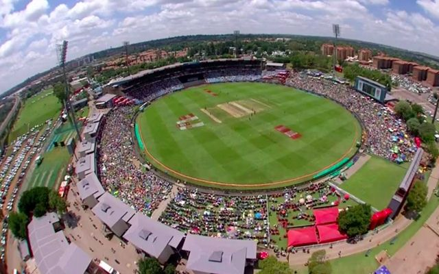 SuperSport Park before the Lunch break