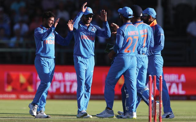 South Africa wins toss and bowls against India in 5th ODI