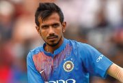 Indian bowler Yuzvendra Chahal