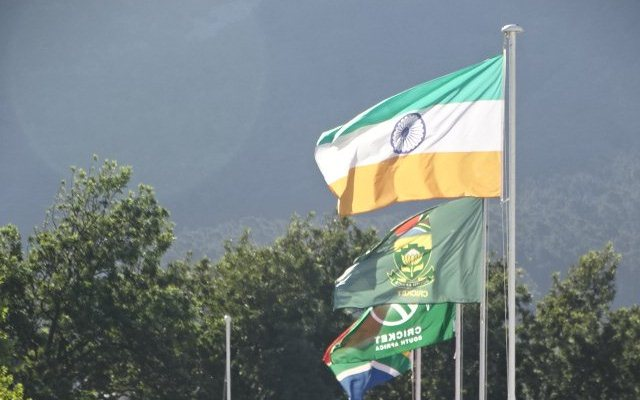 South Africa vs India: Indian flag hoisted upside down at ...