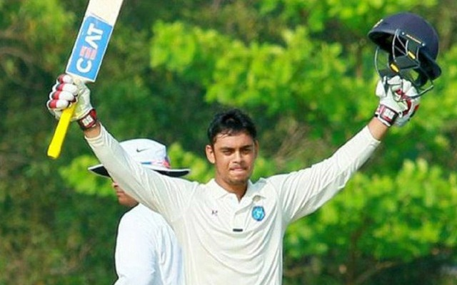 Ishan Kishan in the Vijay Hazare Trophy