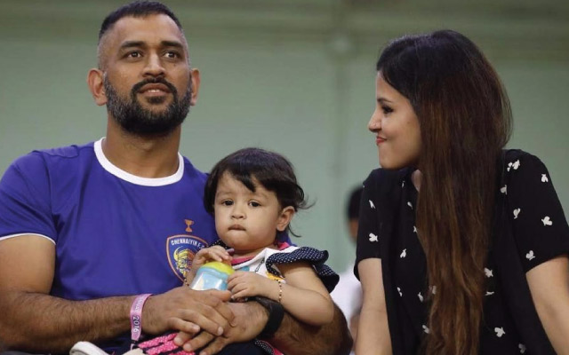 Watch Dhoni's daughter Ziva dance in a heart-warming video