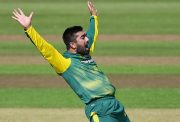 Tabraiz Shamsi of South Africa