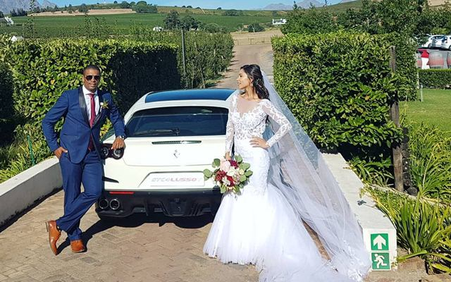 Vernon Philander and his wife
