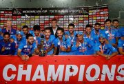 Winning Asia Cup in Bangladesh, 2016