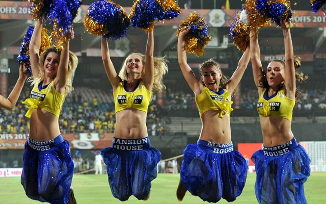 Chennai Super Kings cheerleaders
