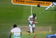 David Warner bowled
