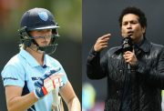 Ellyse Perry and Sachin Tendulkar