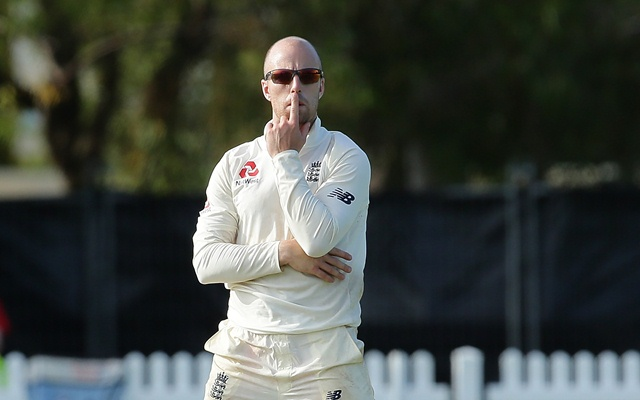England call up Jack Leach to replace injured Mason Crane