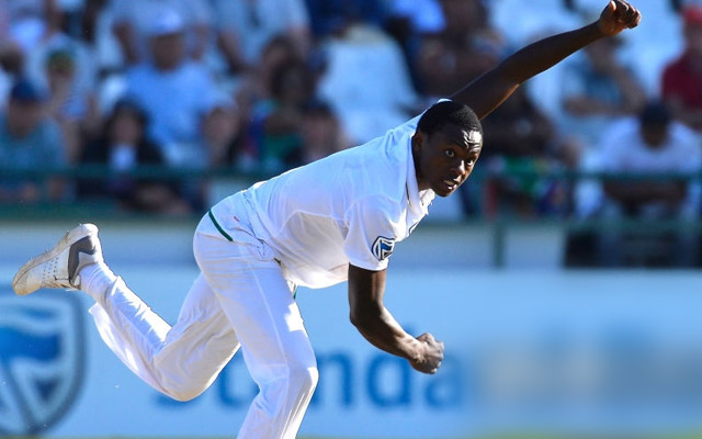 Kagiso Rabada of South Africa