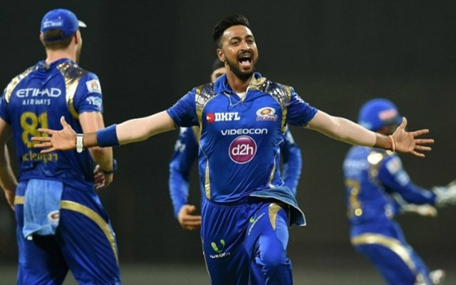Krunal Pandya is best spin bowler all-rounder for Mumbai Indians