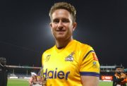 Liam Dawson of the Peshawar Zalmi