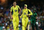 Steve Smith & Mitchell Starc