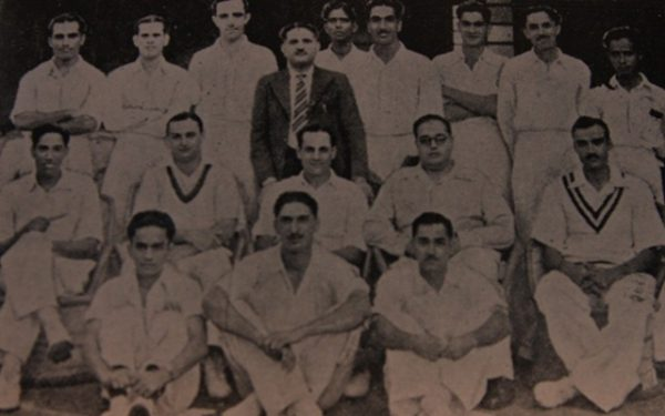 The 1948-49 Mumbai Ranji team