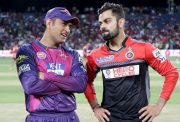 Virat Kohli & MS Dhoni against the Delhi Daredevils