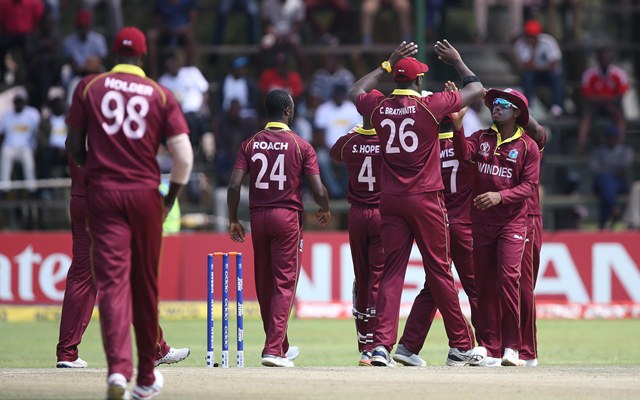 West Indies edge out Scotland to qualify for ICC 2019 World Cup